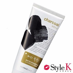 Sữa Rửa Mặt [The Face Shop] Charcoal Phyto Powder In Cleansing Foam