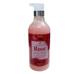 Sữa tắm Dưỡng thể tinh chất hoa hồng Lunaris 750ml xách tay Hàn Quốc