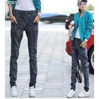 Quần jeans nữ lưng thun Mã: QD573