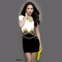 Đầm In Họa Tiết Ngọc Trinh - HR177