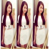 sét dồ trắng chân váy ôm