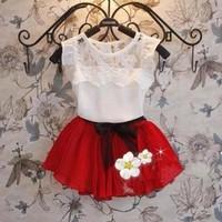 Bộ váy bé gái không tay, kiểu dáng mới xinh xắn, thời trang xuân hè