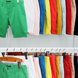 Quần kaki short có đủ màu sắc cho bạn lựa chọn dành cho phái mạnh