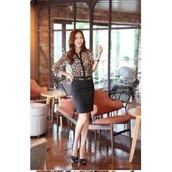 M40- Chân váy Hàn Quốc đen - hàng nhập - 100