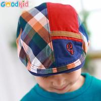 Mũ beret trẻ em hoạ tiết caro cá tính chỉ có tại Yaly shop