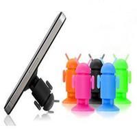 Đế hít điện thoại hình Android- giao màu ngẫu nhiên