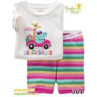 Tinker Bell Kids - Bộ Gap ngắn 364 - Beach babes