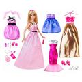Búp bê Barbie bộ sưu tập dạ hội BCF75