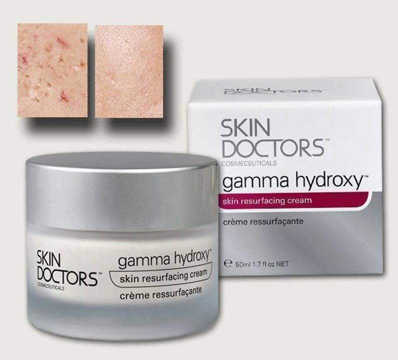 Kem tái tạo da mụn, nhờn GAMMA HYDROXY của Skindoctors 1