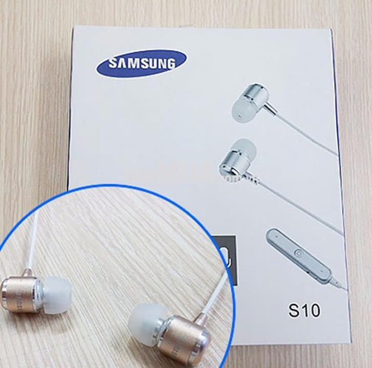 Tai Nghe Bluetooth Samsung S10 - Nghe Tất Cả Điện Thoại 1