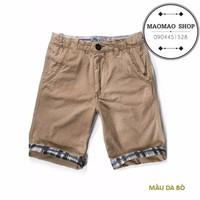 MaoMao - Quần Short Kaki SUPER DRY Hot 2015 - Màu Da Bò - QS-33