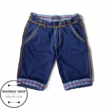 MaoMao - Quần Short Jeans Nam Phong Cách - QR_01