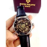 Đồng hồ cơ Patek Philippe Geneve dây da giá rẻ tại Tp.HCM
