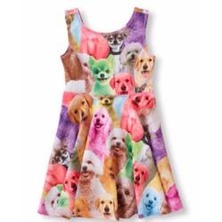 Đầm thun đàn chó con xinh xắn