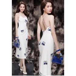 Hàng thiết kế - Đầm maxi shy girl Ngọc Trinh D203