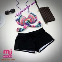 Bikini cạp cao  MS178 _ HÀNG CAO CẤP