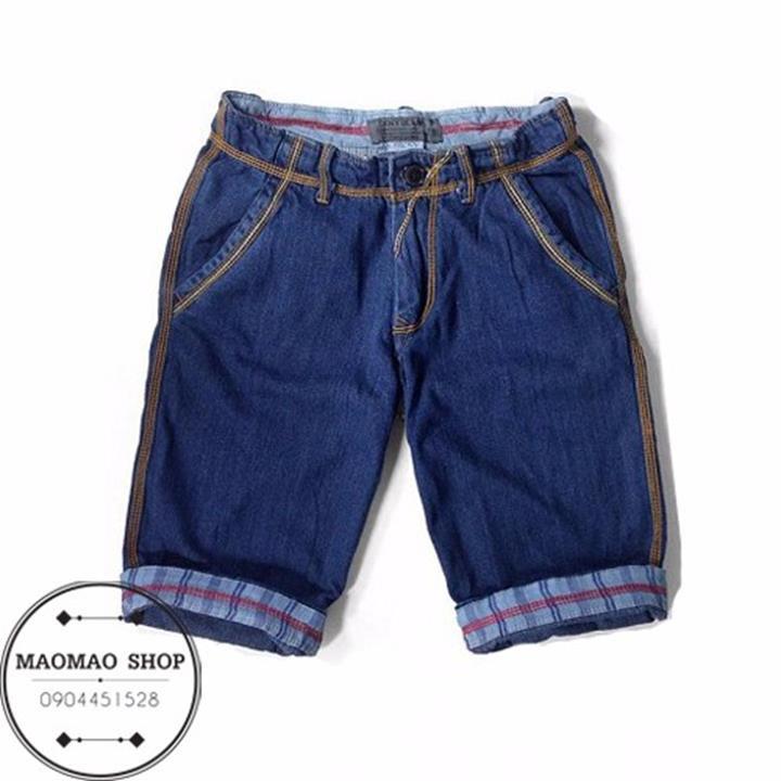 MaoMao - Quần Short Jeans Nam Phong Cách - QR_01 1