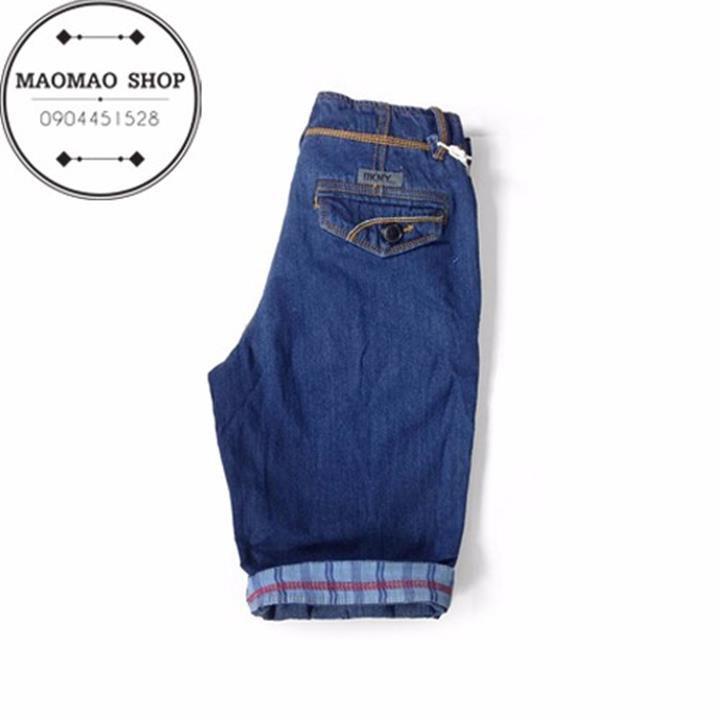 MaoMao - Quần Short Jeans Nam Phong Cách - QR_01 2