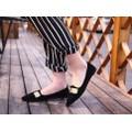 Giày búp bê kim loại BB31