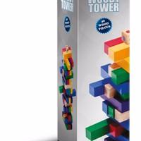 Bộ đồ chơi gỗ màu Woody Color Tower