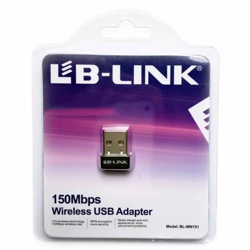 Usb thu wifi siêu nhỏ LB-LINK WN151 Nano - 5634327 , 9518795 , 15_9518795 , 80000 , Usb-thu-wifi-sieu-nho-LB-LINK-WN151-Nano-15_9518795 , sendo.vn , Usb thu wifi siêu nhỏ LB-LINK WN151 Nano