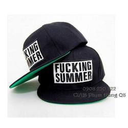 Nón snapback G Dragon hip hop Fucking Summer hàng nhập cung cấp sỉ lẻ