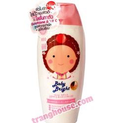 Lotion Dưỡng Trắng Baby Bright Glutathion Vit C Body Lotion Cathy Doll