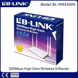 Router wifi LB-Link BL-WR4300H - Bộ phát wifi 4 ăng ten xuyên tường