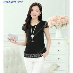 Áo kiểu nữ xinh yêu, dịu dàng - Mã MM80326