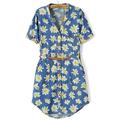 [Laila Fashion] Hàng nhập - Đầm váy jean hoa mùa hè 2015 DH1514
