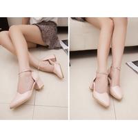 Giày cao gót gót vuông