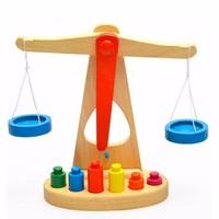 Bộ đồ chơi Cán cân công lý dành cho bé giá chỉ 120k