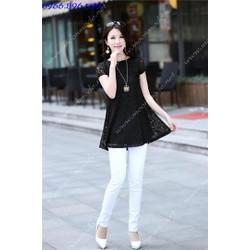 Áo kiểu dáng váy ren xinh yêu, điệu đà - Mã MM80335
