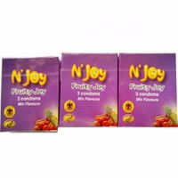 N Joy Fruity Joy hương trái cây các loại 5 hôp X 3 cái