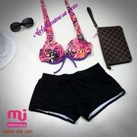 Bikini quần short cao cấp  MS207