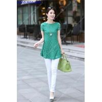 Mã MM80335 - Áo váy ren điệu đà, xinh yêu