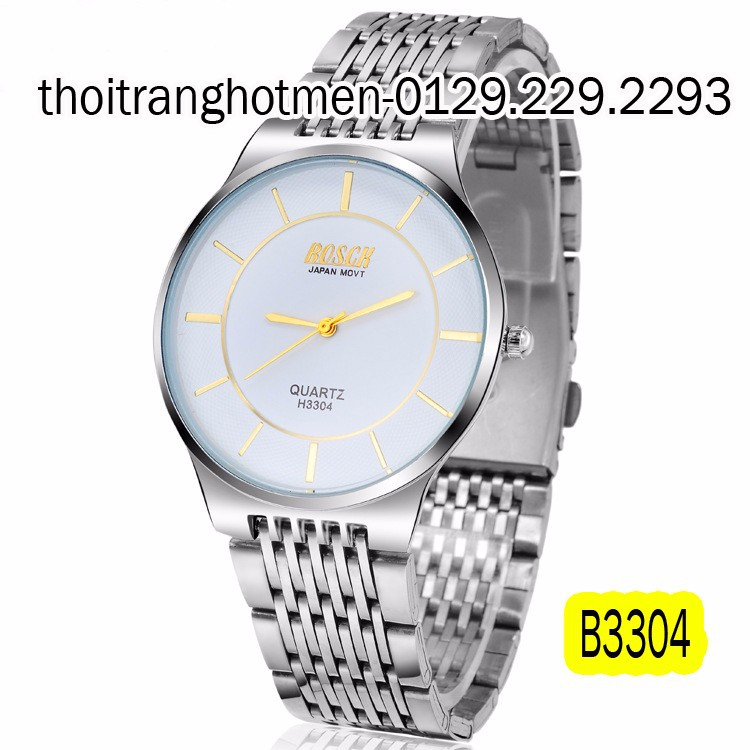 Đồng hồ nam cao cấp BOSCK Japan B3304 6