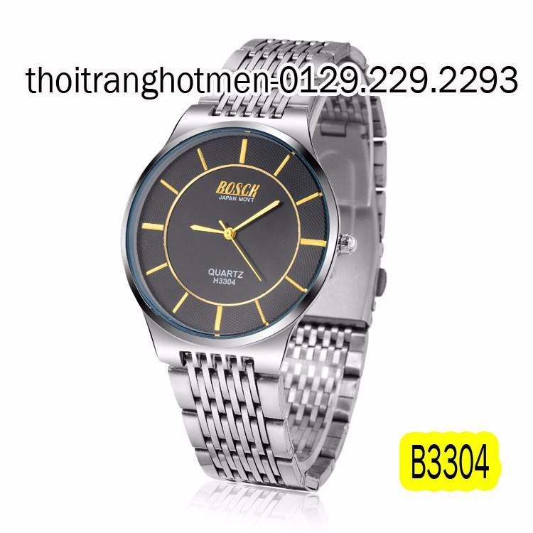 Đồng hồ nam cao cấp BOSCK Japan B3304 1