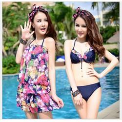 Set Bikini 4 mảnh Cao Cấp Hàn Quốc BH801
