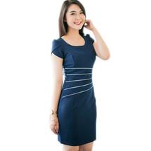 Đầm cao cấp đủ size: Đầm Elisa viền eo