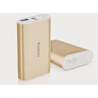 Pin dự phòng chính hãng Yoobao7800mAh- giao màu ngẫu nhiên