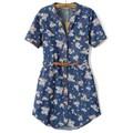[Laila Fashion] Đầm váy jean hoa mùa hè 2015 DH1514