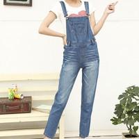 [LaiLa Fashion] Hàng nhập - Quần jean yếm nữ cao cấp QH1507