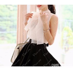 Mã số 580334 - Sét áo và chân váy xòe xinh xắn