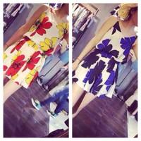 Set áo hoa 2 dây váy xoè 3D - Hàng fake Cao Cấp - 200.000 VNĐ