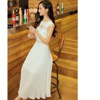 [Laila Fashion] Đầm váy maxi không tay cao cấp DH1509