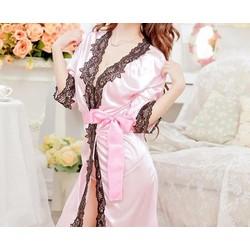 Đầm Ngủ Viền Ren 75