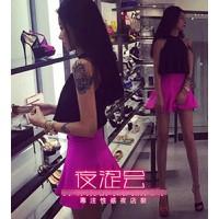 Váy đầm yếm dạo phố Mã: AV817