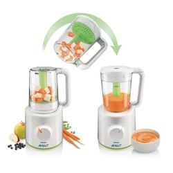 Máy hấp và xay thức ăn cho trẻ Philips Avent SCF870-20