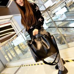 Túi xách da style cực cá tính + tặng kèm 1 túi xách nhỏ Bomdo- TX43